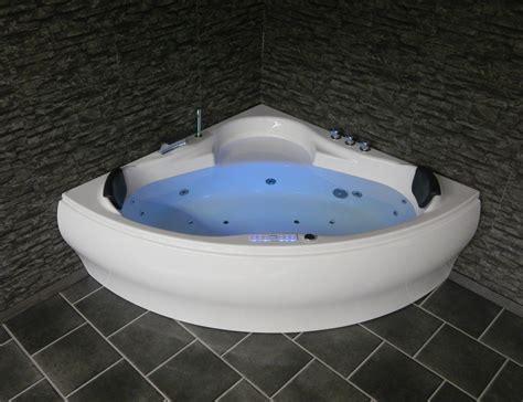 triangular bathtub luna triangle whirlpool bathtub led jacuzzi spa 140