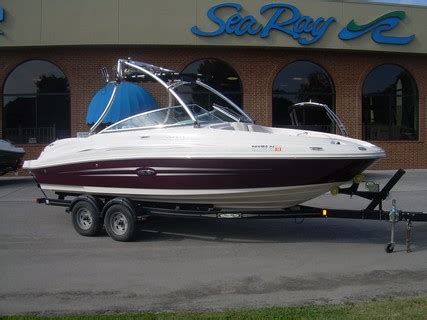 used deck boats for sale knoxville tn 2008 23 sea ray used boat for sale knoxville tn on