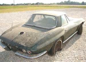 Wrecked For Sale 1965 Corvette For Sale Corvette Project Cars For Sale