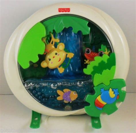 Fisher Price Jungle Crib Soother by Fisher Price Rainforest Waterfall Soother Crib Peek A