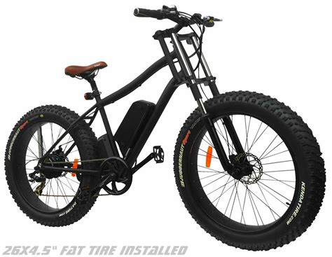 All About Bicycle 4 this electric all terrain bike wants to go to the