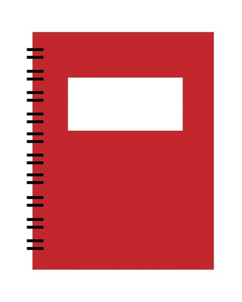 libro the red notebook spiral notebook red clipart free stock photo public domain pictures