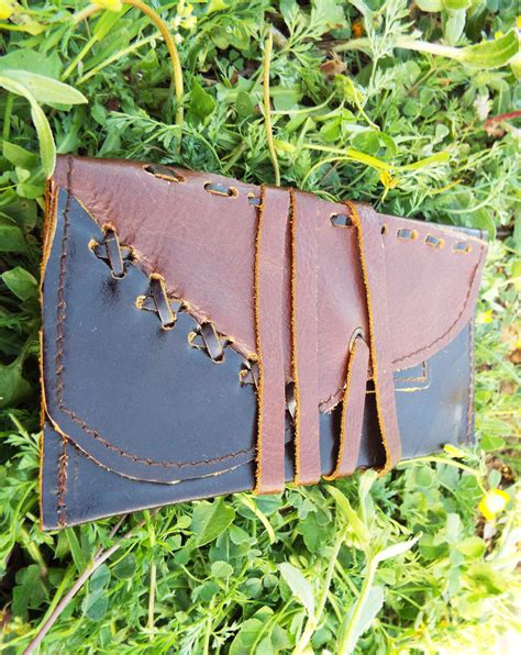 Handmade Leather Tobacco Pouches - handmade leather tobacco pouch