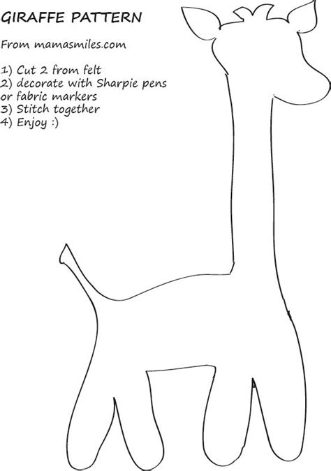 Sewing Patterns Templates Designs Projects Store | 25 best ideas about giraffe pattern on pinterest