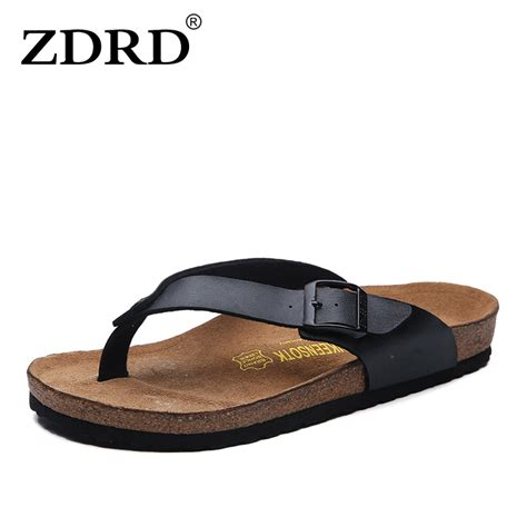 high quality slippers zdrd summer fashion soft foam cork sandals slippers