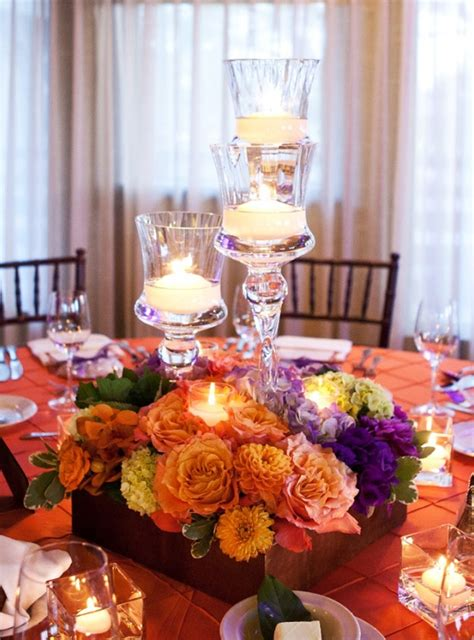 Candle Decorations Archives Weddings Romantique Candle Wedding Centerpiece