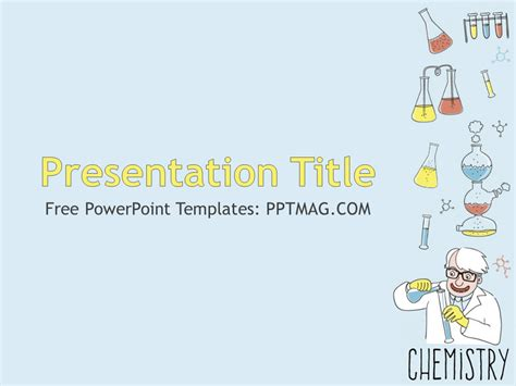 free science powerpoint template free chemistry powerpoint template pptmag