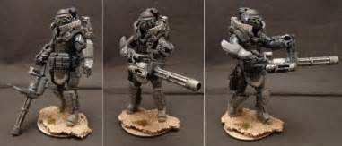 Call of duty ghosts custom action figures by stronox