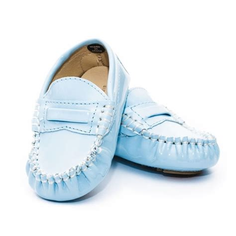 blue baby shoes trumpette light blue moccasins baby shoes daintybaby