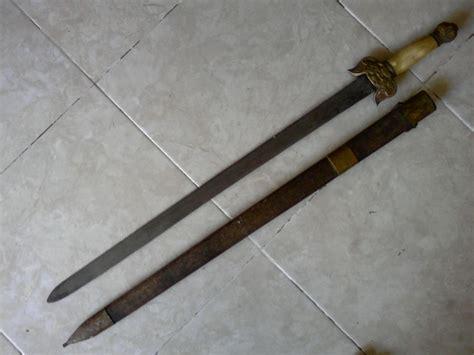 Barang Antik Cina barang antik pedang cina kuno