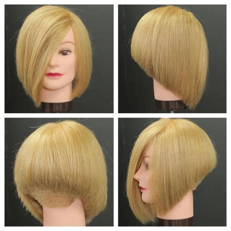 how to make bob haircut look piecy 25 best ideas about stacked bob haircuts on pinterest