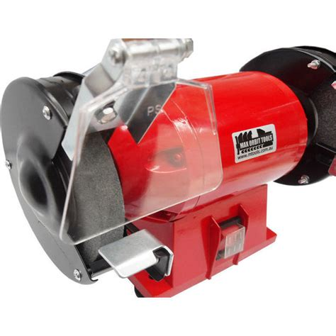 bench grinder shield max orbit bench grinder with shields light 125mm buy