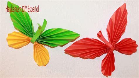 c mo hacer una mariposa de papel origami youtube como hacer mariposa de papel paso a paso youtube