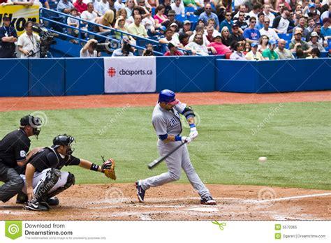 major league swing major league baseball swingin at a pitch editorial image