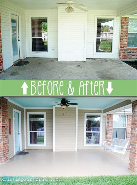 25 best ideas about painting concrete porch on painting concrete colored concrete