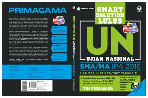 Smart Solution Lulus Un Smama Ips 2017 buku ujian nasional 2016