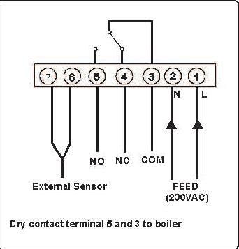 wiring diagram for danfoss fridge thermostat smc wiring