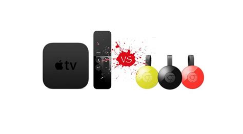 Apple Tv 4th Generation Vs Chromecast 2 Which One Is