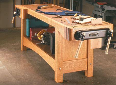 twin screw heavy duty workbench woodsmith plans