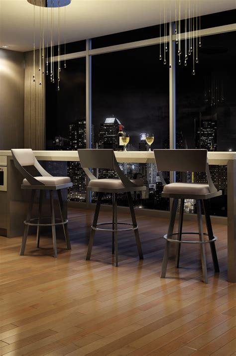 kitchen furniture stores toronto amisco s fame modern luxurious swivel counter stool w back