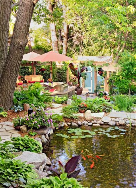 How To Make Your Backyard Beautiful by How To Make Your Backyard A Vacation Oasis Midwest Living