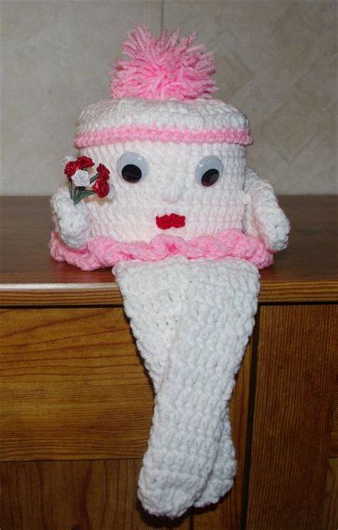 pattern crochet lshade 29 best images about crochet tissue covers on pinterest