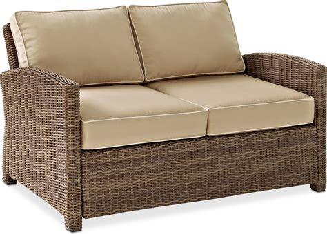 outdoor furniture loveseat destin outdoor loveseat sand american signature furniture