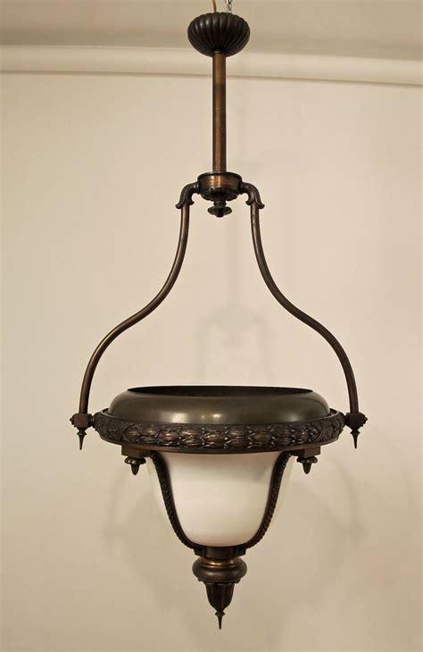 Gas Light Fixture 19th Century Bronze Gas Light Fixture At 1stdibs