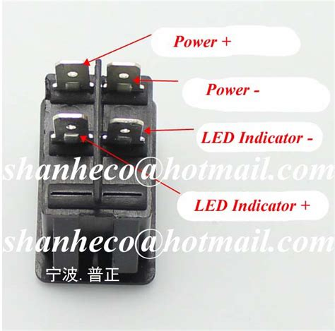 4 pin led rocker switch wiring diagram