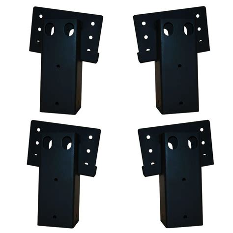 Enclosed Hunting Blinds Elevators 4 In X 4 In Double Angle Brackets 4 Set E188