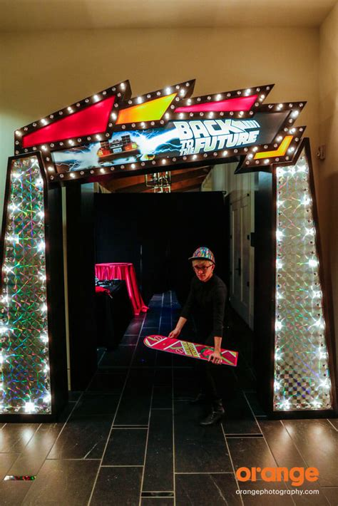 party themes of 2015 back to the future party ideas