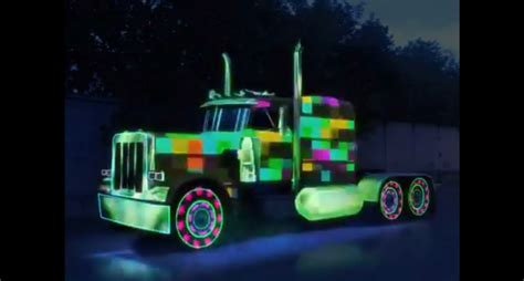 what do you say about this fancy colorful truck it