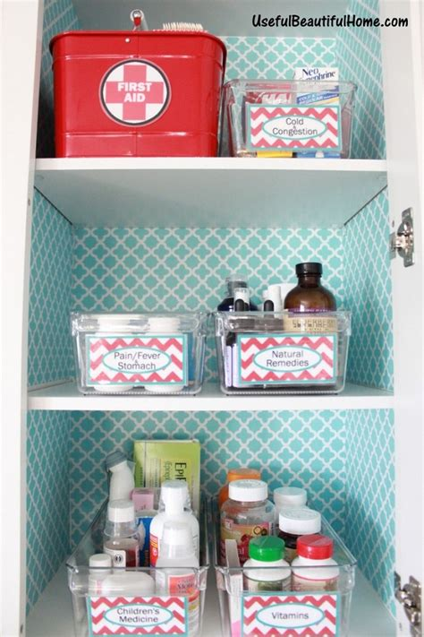 How To Organize Medicine Closet by 15 Tips And Tricks For Organizing Your Linen Closet