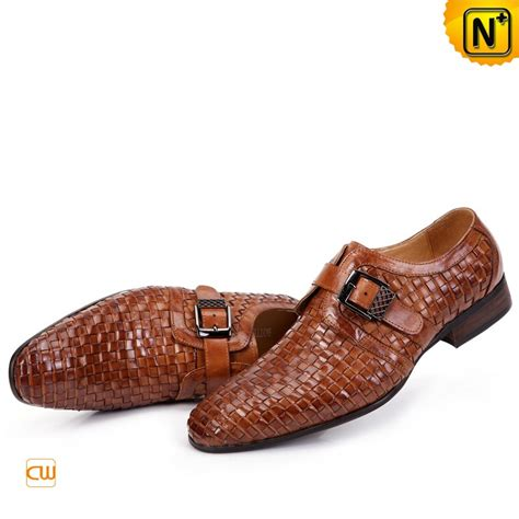 Handmade Italian Leather Shoes - mens handmade italian leather dress shoes cw761188