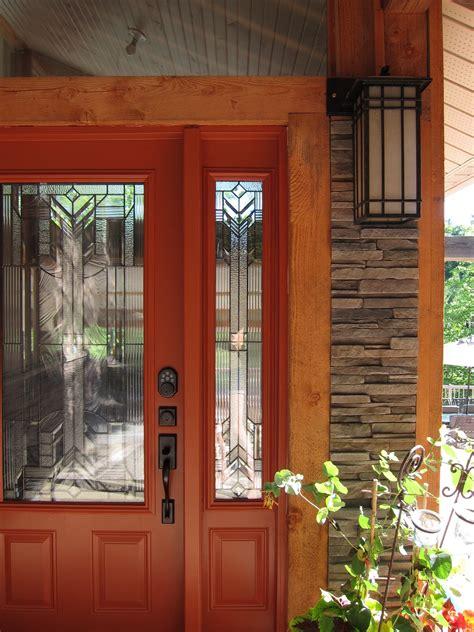 orange front door v 228 rv project muskoka front door