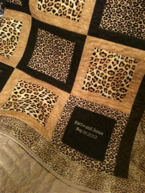Animal Print Quilt by Pin By Crabtree On Style