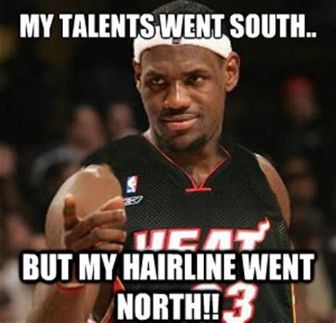 Pin Lebron Hairline Jokes On - twitter reacts to the new look of lebron james hair complex