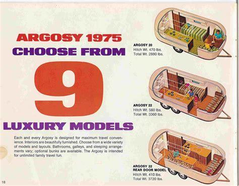 26 Ft Travel Trailer Floor Plans 1978 22 foot argosy vs 1978 22 minuet airstream forums