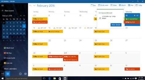 Icloud Calendar Easy To Sync Icloud With Windows10 Calendar In Real Time