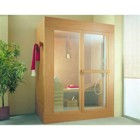 cabine sauna cabine multifonction pour sauna et hammam ideal