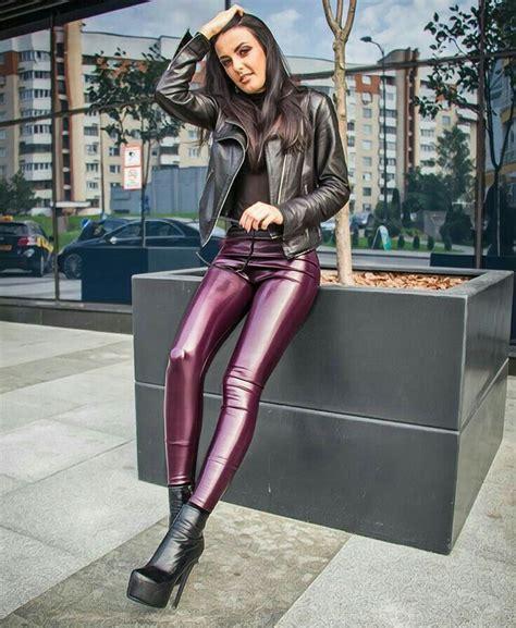 alessandra sublet leather dress leather style hottt
