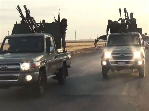 is toyota us officials ask how isis got so many toyota trucks abc news