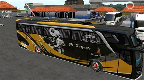po haryanto wayang shd  livery es bus simulator