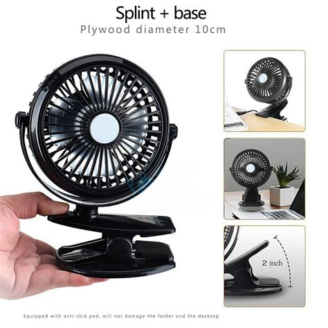 battery operated desk fan drop shipping clip on fan mini personal desk fan portable