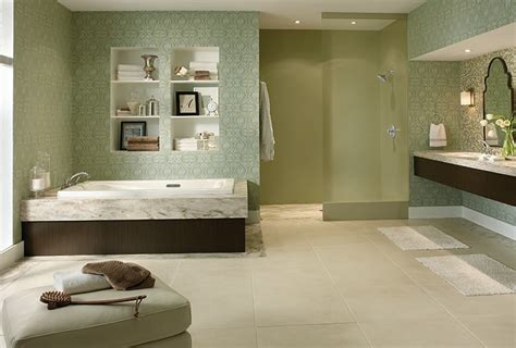 spa inspired bathrooms from blah to spa elements of great bathroom design