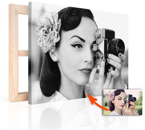 imagenes en lienzo negro hacer foto lienzo blanco y negro foto en lienzo es