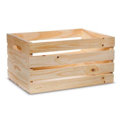 Hand Made Modern   Wooden Crate   Pine : Target