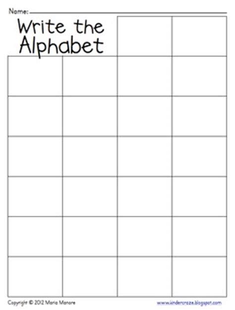 words their way blank sort template write the alphabet grid by gavin teachers pay teachers