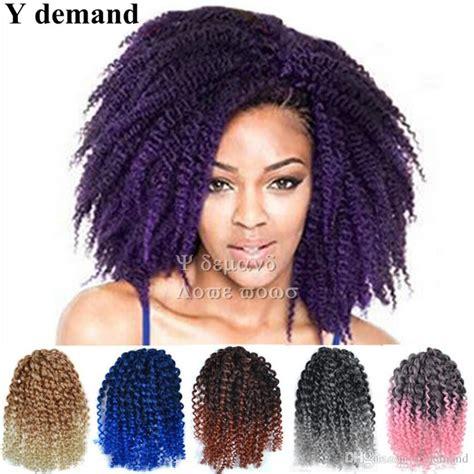 short hair styles kinky gray hair 2018 fashion 8 mali bob ombre twist crochet braids short
