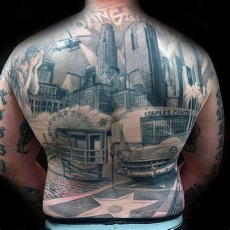 city skyline tattoo designs 70 city skyline designs for downtown ink ideas